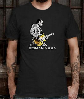 New Joe Bonamassa American Rock Blues Guitar Legend T shirt Tee Sz L