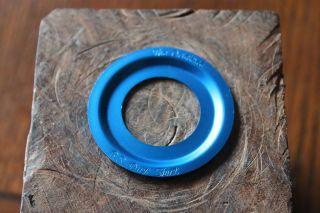 ORIGINAL B.S. DIRT SKIRT ANODIZED BLUE for RACE INC/SE/GT/TORKER