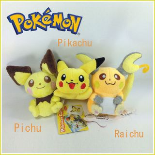 raichu plush in TV, Movie & Character Toys