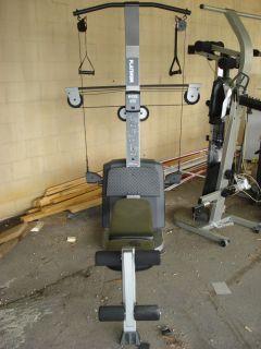 Exercise/Workout Gym Machines, Weider Platinum 600, Cybex, Schwinn