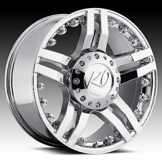 20 Chrome REV Guillotine Wheels GMC Chevy Ford Truck SUV f 150