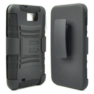 IN 1 RUGGED CASE & BELT CLIP HOLSTER KICKSTAND FOR SAMSUNG GALAXY NOTE