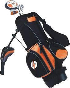 2010 Powerbilt Junior Golf Clubs Set Orange Ages 3 5 RH