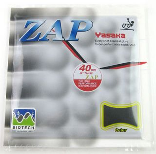 Yasaka Biotech ZAP H.36 38 Table tennis Pip in Rubber