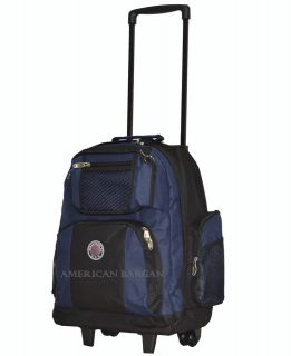 Rolling Wheeled Backpack Book Bag School Backpack CarryOn handle