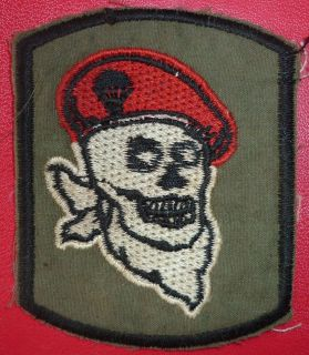 Airborne Paratrooper   Red Berets   VIETNAM WAR   Special Forces