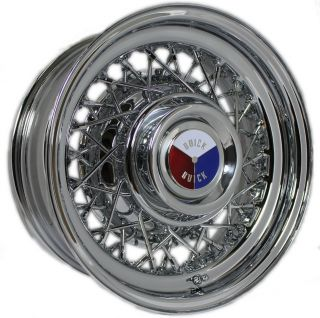 Buick Wire Wheels 1940 1980 Kelsey Hayes Style Set of 4