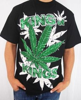 Club Urban King of Kings 4 Shirt Black Hip hop mens clothing tattoo