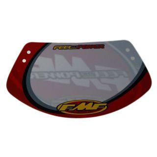 FMF BMX Racing Race Number Plate Mini w/Fastener