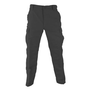 PROPPER BLACK POLY COTTON RIPSTOP BDU PANTS (clothing cargo military