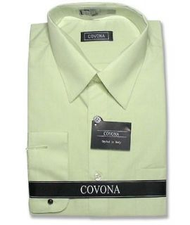 mens green dress shirts in Mens Clothing