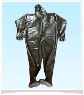 Full Body NEW Nature Rubber Fishing Suit [ US SIZE 12  SIZE 13 ]