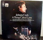 JOHNNY CASH A THING CALLED LOVE LP VINYL ALBUM