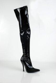Thigh High Ladies NO MEN Size High Heel Boots AB10907C