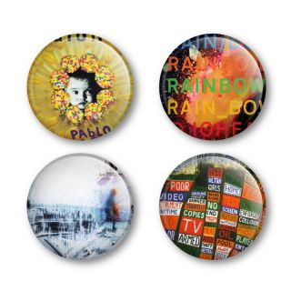 Radiohead Badges Buttons Pins Shirts Tickets Albums