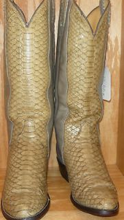 tony lama snake skin boots in Mens Shoes