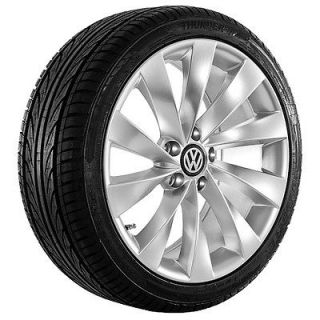 18 VW Wheels Rims and tires CC Golf Passat 2012 EOS 2012 GTI Rabbit