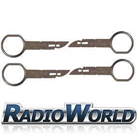 Ford Focus 05 07 Stereo Radio CD Removal Keys Tools Pins