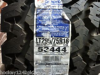 Newly listed 1 New LT 295 75 16 BFGoodrich All Terrain T/A KO Tire