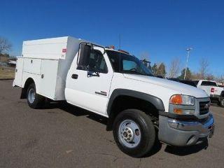 Truck 2004 GMC Sierra 3500 Utility Work Service Body Long Bed Diesel