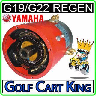 Yamaha G19 G22 Golf Cart Regen Electric Motor (48 Volt)
