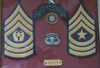 army ranger patches in Current Militaria (2001 Now)