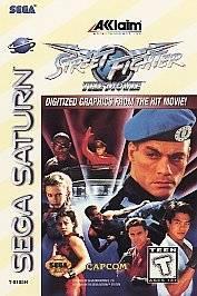 Street Fighter The Movie Sega Saturn, 1995