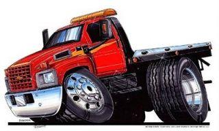 Chevy Flat Bed Tow Truck Hauler T Shirt #9068 GM NWT
