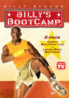 Billy Blanks   Lower Body Bootcamp/Cardio Bootcamp Live (DVD, 2006, 2