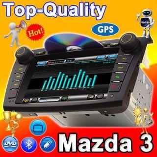 Mazda 3 GPS CAR DVD Player Radio Navi BT CD PiP Navigation Audio