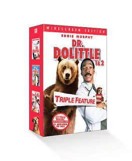Dr. Dolittle Gift Set DVD, 2006, 3 Disc Set, Full Frame