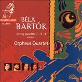 Bartok String Quartets 1, 3, 4 CD, Mar 1996, Channel Classics