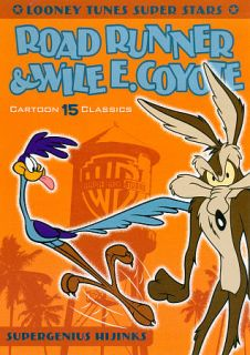 Looney Tunes Super Stars Road Runner Wile E. Coyote DVD, 2011