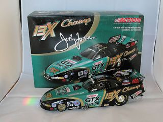 16 John Force Castrol GTX Start Up/13X Champion Mustang Funny Car