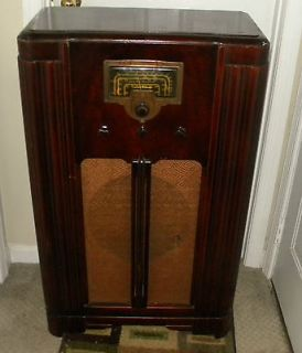 VINTAGE RCA VICTOR RADIO MODEL 6K2   YEAR 1936   GOOD CONDITION