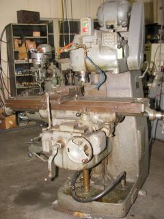 Van Norman Horizontal/Ver​tical Milling Machine 26 Plain Ram Type