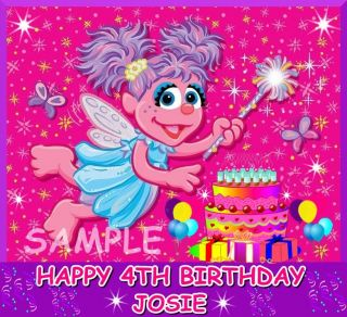 ABBY CADABBY FROSTING SHEET EDIBLE CAKE TOPPER IMAGE DECORATIONS