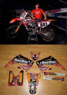2002 2008 HONDA CR 125 250 Bad Boy Motocross Graphics DIRT BIKE