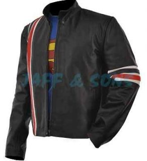 Easy Rider American P. Fonda Motorcycle Leather Jacket All Sizes