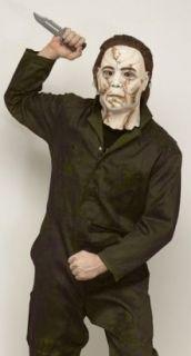 New Halloween Michael Myers Rob Zombie Deluxe Costume