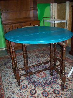 Gateleg Table Shabby Chic Antique in Arkansas