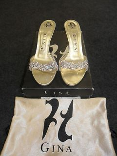 Gina shoes size 3 (36) CRYSTAL *Stunning* Worn once only Genuine RRP