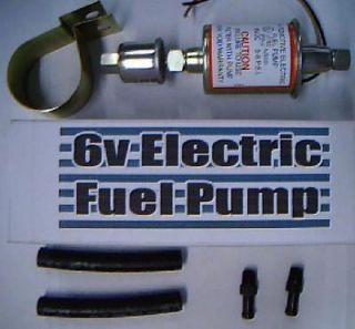 volt Fuel Pump Nash Hudson 1942 1946 1947 1948 1949  can be assist