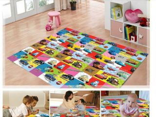 BABY Toddler KIDS CHILDREN Disney Cars McQueen Play Mat RUG for in/out