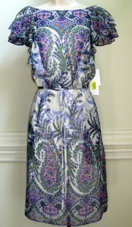 Adrianna Papell   Womens Sleeveless Dress, New, Discount