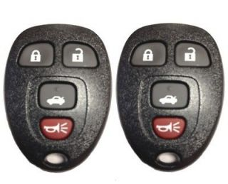 NEW PAIR GM CHEVY GMC BUICK KEYLESS ENTRY REMOTE KEY FOB TRANSMITTER