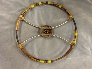 1939 Chevrolet banjo steering wheel vintage original low rider bomb