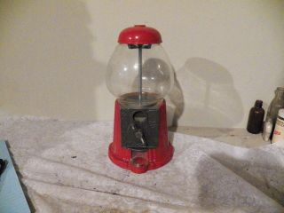 Collectable Coin Operated Bubble Gum Machine Age? Works Table Top