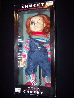 Bride of Chucky Movie Collectible Life Size doll talking with sound
