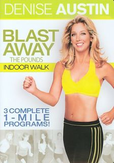Denise Austin   Blast Away the Pounds Indoor Walk DVD, 2005